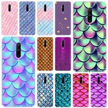 Hot Colorful Fish Scale Soft Silicone Fashion Transparent Case For OnePlus 7 Pro 5G 6 6T 5 5T 3 3T TPU Cover