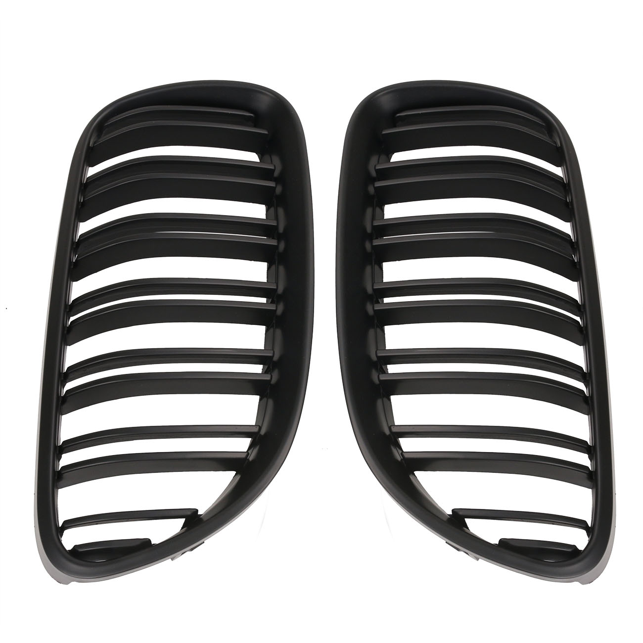 Double Slat Front Grille Radiator Grills For BMW E92 E93 LCI 318i 320i 328i 335i 2011 2012 2013 Car Exterior Parts .# CASE