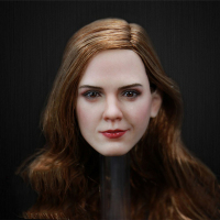 1/6 Scale Female Figure Beauty Lady Emma Watson Head Sculpt for 12 Inches Women Bodies