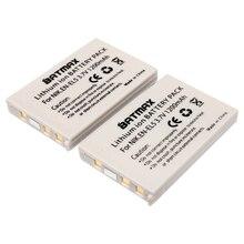 Batmax 2 unids en-el5 en el5 enel5 batería recargable para nikon coolpix P530 P520 P510 P500 P100 P90 P80 P5000 P5100 P6000 Cámara