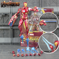 Marvel S.H.Figuarts 6 Iron Man MK50 Action Figure Ironman Mark 50 Tony Stark KO's SHF Legends 2018 Avengers 3 Infinity War Doll