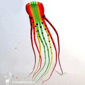15M Large Octopus Kite Rainbow