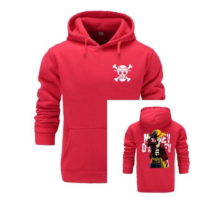 GVHHCK One Piece Skull Hoodie Hoodies Men Women 2018 New Fashion Hip Hop Pullover Sweatshirts Sweat Homme 3D Hoody Tops 5
