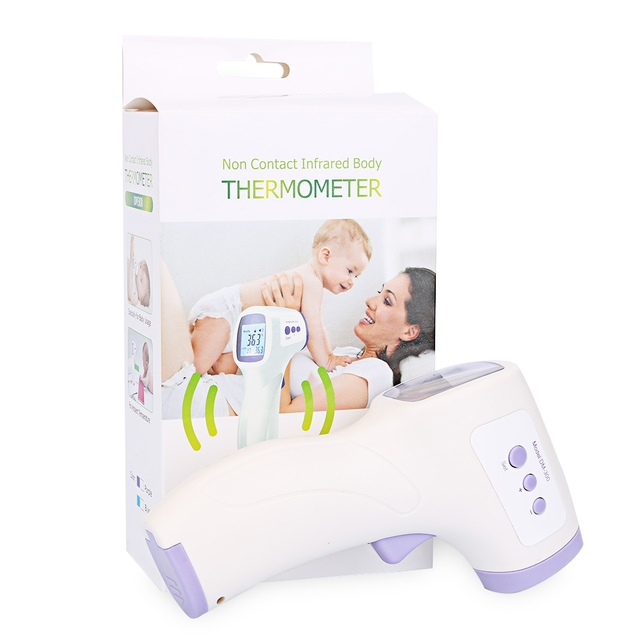 New Muti-fuction Baby/Adult Digital Termomete Infrared Forehead Body Thermometer Gun Non-contact Temperature Measurement Device