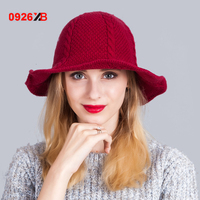 0926XB Kova Kap Kadın Örgü Muz Şapka Bob Kapaklar Açık Yün Kış Bayanlar Plaj Güneş Balıkçılık Tığ Kova Şapka XB-D607