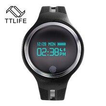 TTLIFE Водонепроницаемый Bluetooth Smart Браслет Шагомер Фитнес синхронизации Браслет для Android и IOS Smart Band Носимых устройств