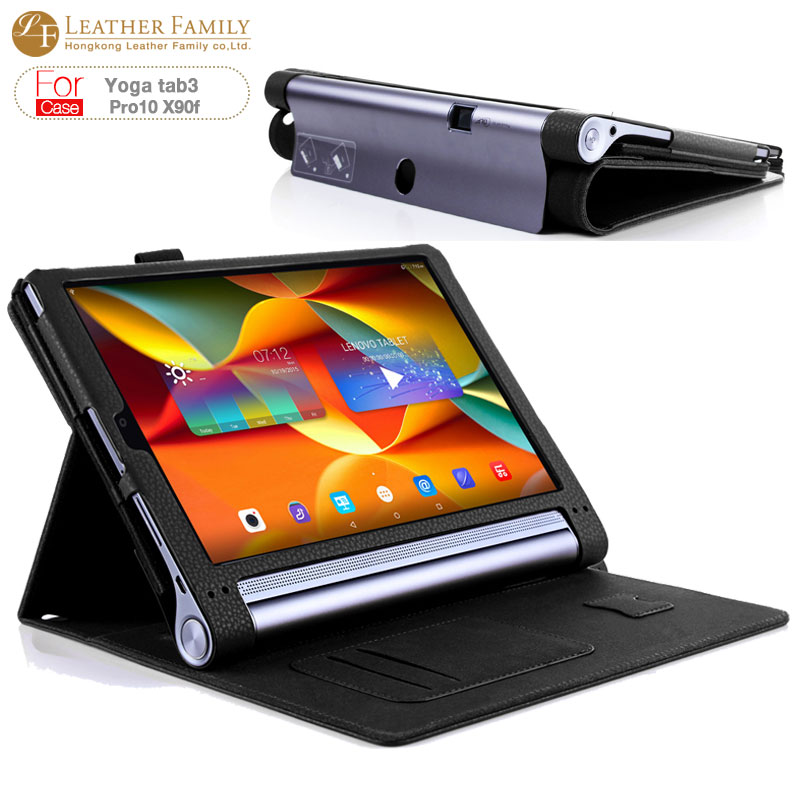 For lenovo yoga tab3 pro10 X90f Case original Stand Book Cover Tablet Case For yoga tab 3 pro 10.1 inch Flip Hands Holder Wallet luxury flip stand case for samsung galaxy tab 3 10 1 p5200 p5210 p5220 tablet 10 1 inch pu leather protective cover for tab3