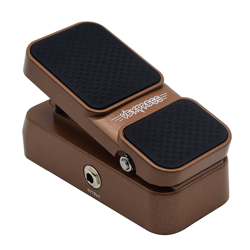 Sonicake Passive Volume Expression Pedal 2 in 1 Vexpress Mini Active Wah Effects Guitar Pedal LED Light Indicate QEP-02 volume pedal new portable true bypass design 15ma 2in1 volume pedal cp 31 wah pedal musical instruments accessories ea14