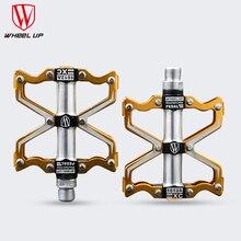 WHEEL UP 3 подшипники Алюминиевые педали велосипеда CNC bmx дорога mtb горные велосипедные педали велосипеда части высокое качество titanium 2017 новое прибытие(China (Mainland))
