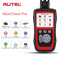 Autel MaxiCheck Pro OBD2 Scanner EPB/ABS/SRS/SAS/Airbag/Oil Service Reset/BMS/DPF Code Reader Car Diagnostic Tool Update Online