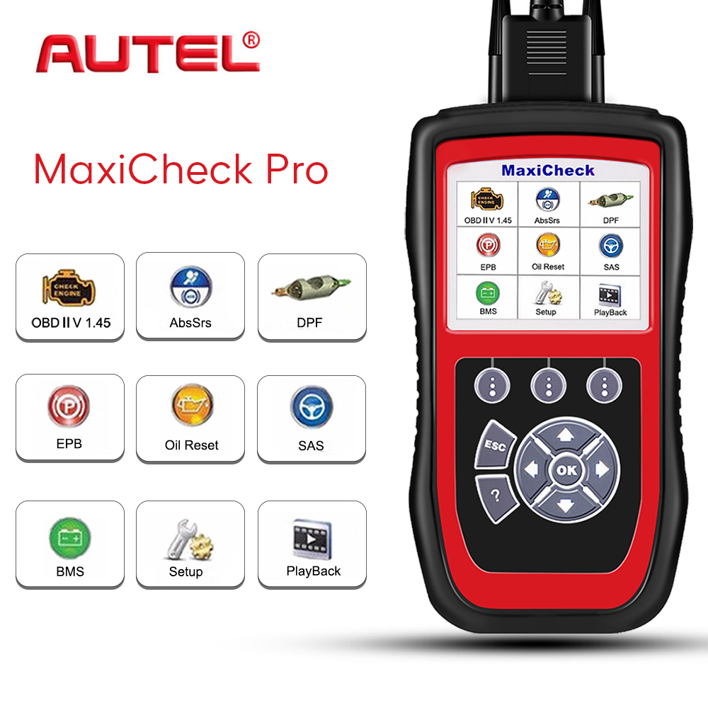 Autel MaxiCheck Pro Diagnostic Tool OBD2 Scanner Car Diagnostic Stethoscope OBD Scanner For Car Automotivo Scanner Automotive|Code Readers & Scan Tools| - AliExpress