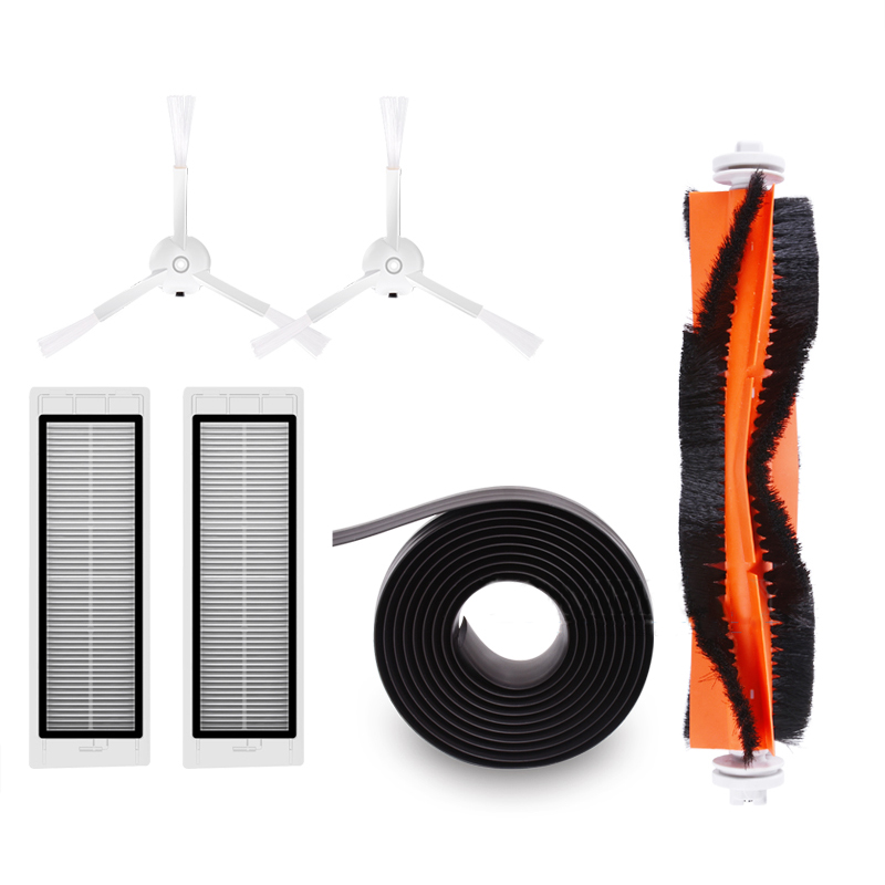 Skillful Knitting And Elegant Design Cleaning Appliance Parts 2pcs Filter 2pcs Side Brush 1pc Main Brush 1pc Virtual Magnetic Wall Vacuum Cleaner Spare Parts For Xiaomi Roborock Robot Kits To Be Renowned Both At Home And Abroad For Exquisite Workmanship
