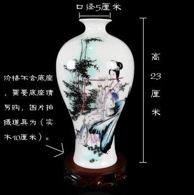 Modern fashion decoration white decoration ceramics vase in Vases from Home Garden