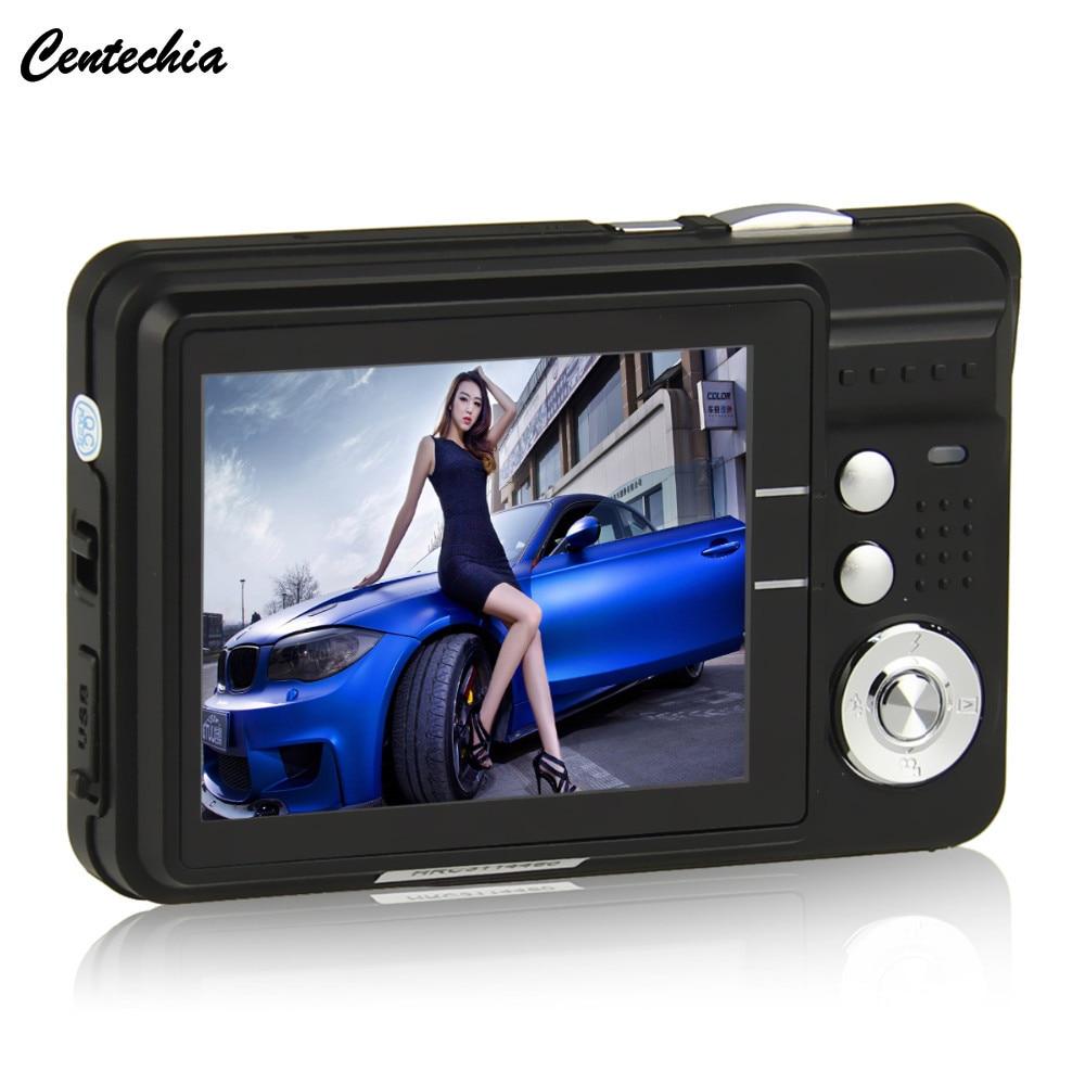 Centechia 2.7 inch TFT LCD 18MP Digital Camera HD720P Photo Video Camcorder 8XZoom Anti-shake DV LED Fill Light Non-touch Camera