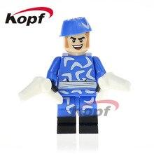 Única Venda Super Heróis Boomerang Proxima Midnight Chita Superman Blocos Brinquedos Educativos Presente Das Crianças Modelo PG441