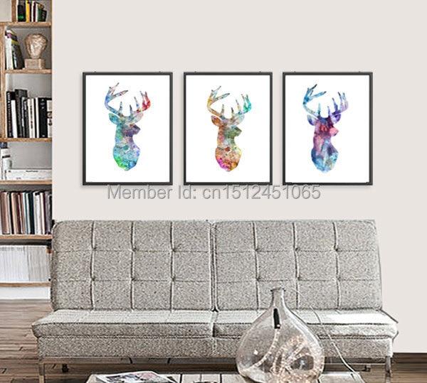 Aliexpress.com : Buy Modern for kids Room wall decor Deer ...