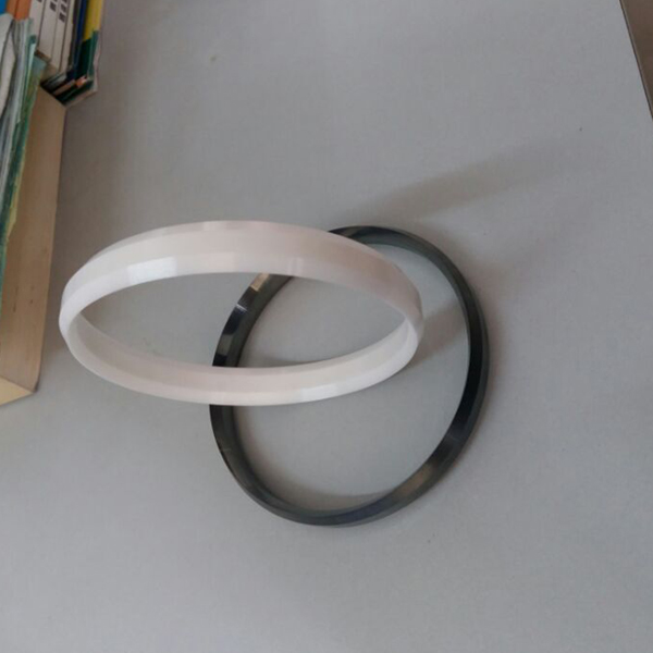 dimension 90x82x12mm double sword ceramic ring for ink cup of winon pad printer double broadsword ceramic ring for winon pad printing machine