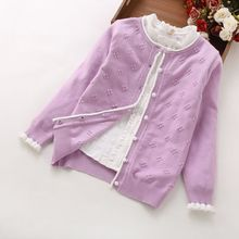 Girls Cardigan Autumn Children Sweater for Boys Baby Sweater Infant Girls Knitted Cardigan 4 Colors Kids