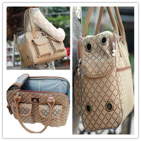Free shipping super quality new style classic style pet dog puppy cat carried bag travel bag carrying case S/M/L 1pc for sell