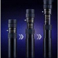 2014 New All Metal Telescopic 10 90x25 Mini HD Times Pocket Mi Ni Monocular Telescope High hd Night Free Send A Tripod Top Brand