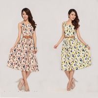 2015 European And American Brand New Clothing Dress Swing Dress Small Fragrant Wind