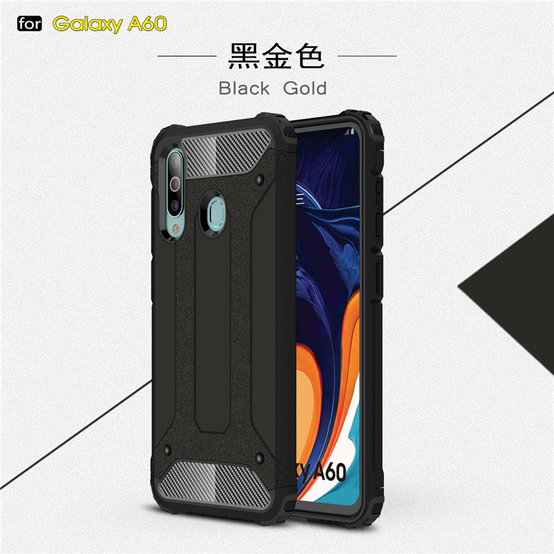 Image 3 - For Samsung Galaxy A60 Case SM A606 Shockproof Armor Rubber Phone Case For Samsung Galaxy A60 Back Cover For Samsung A60 Case-in Fitted Cases from Cellphones & Telecommunications