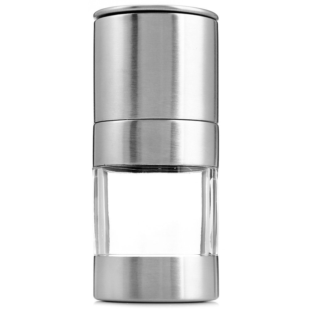 Portable Stainless Steel Manual Salt Pepper Spice Mill Grinder Seasoning Cooking Tools Kitchen Accessaries