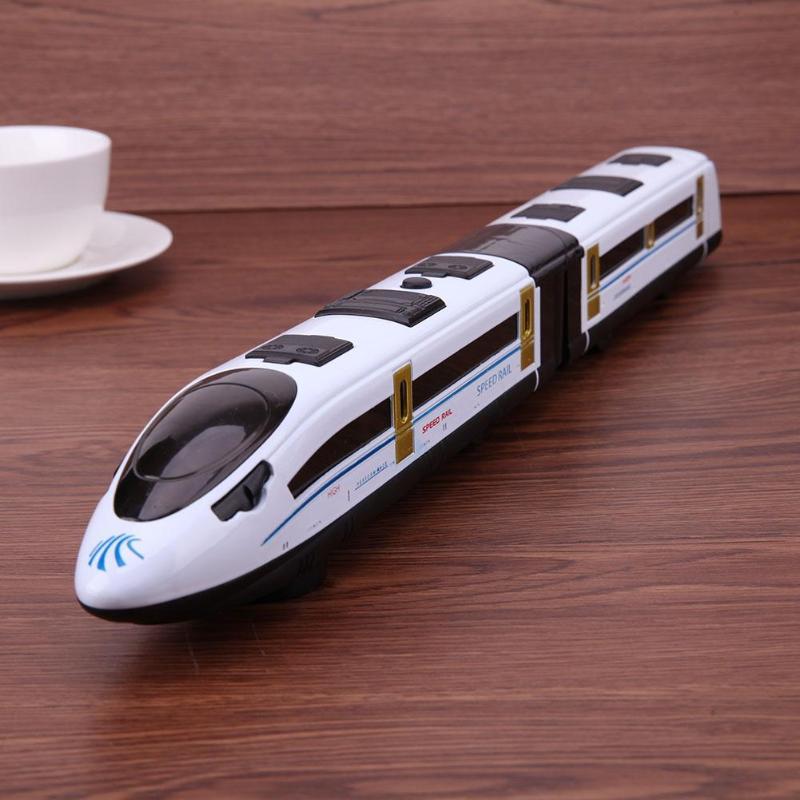 High Simulation Model Toys CRH Railway Alloy Train Model Kids Christmas Gift Locomotive Light Music Train Model Toys