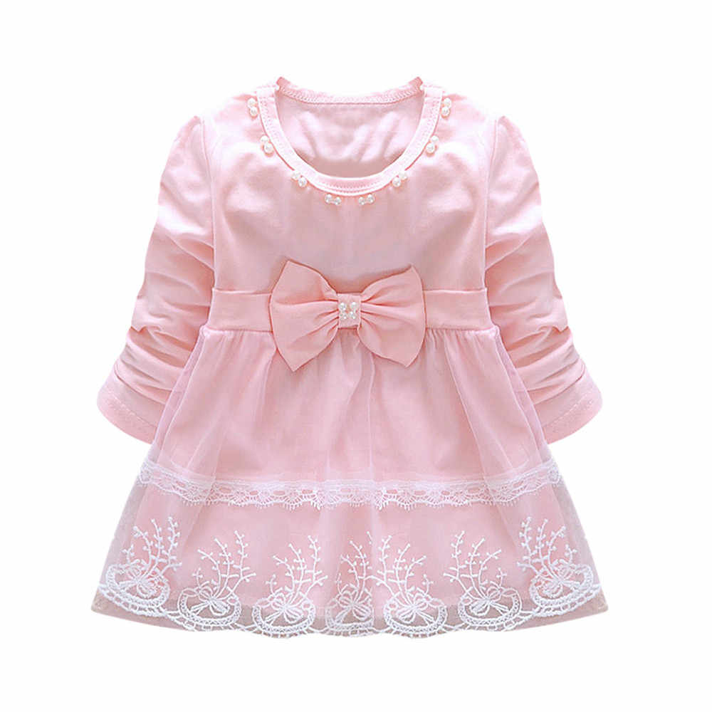 06535f8c Detail Feedback Questions about High quality Cute Toddler Baby Girls  Bowknot Lace Long Sleeve Princess Elegant Tutu Dress girl winter clothes  vestido ...