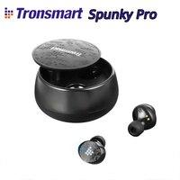 Tronsmart Spunky Pro Bluetooth 5.0 TWS Earbuds IPX5 Waterproof Earphones Deep Bass Voice Assistant Wireless Charging Headset