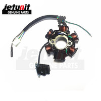 JETUNIT 100%premium Motorcycle generator magneto Starter Coil Stator assy 6 Pole for Honda C50SW C70CW C90 C90CW 31120 GT0 018