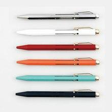 Giappone HIGHTIDE PENCO Multi funzione Penna A Sfera 0.7mm Metallo Penna A Sfera 4 Colori 1 PZ