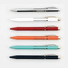 """יפן HIGHTIDE PENCO פונקציה רבת עט כדורי עט כדורי 4 צבע מתכת 0.7 מ""""מ 1 יחידות"""