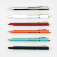 Japan HIGHTIDE PENCO Multi function Ballpoint Pen 0.7mm Metal 4 Color Ballpoint Pen 1PCS