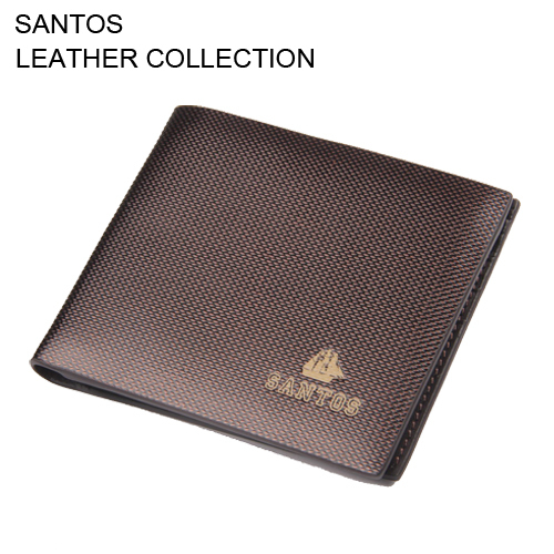 Santos Free Shipping + Genuine Leather Wallet+ Man Wallet + Bifold Wallet SAQBH031-Z