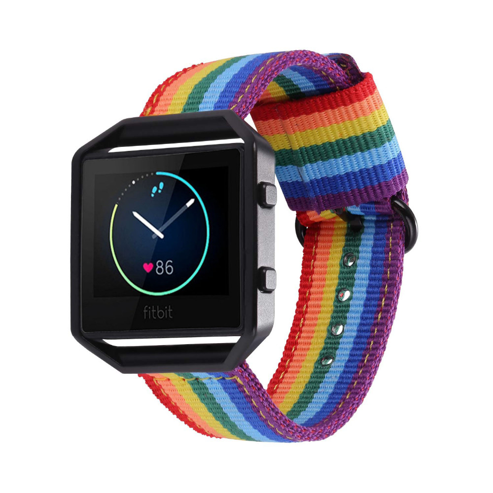 Fitbit Blaze Bands Replacement Fabric Watch Band Wrist