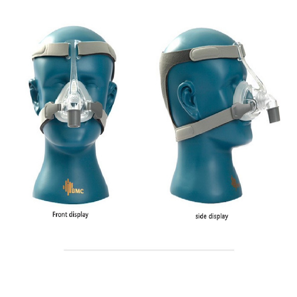BMC-NM4 Nasal Mask For Automatic CPAP APAP Masks Anti Snoring Treatment Interface Sleep Snore Respirator Strap With Headgear