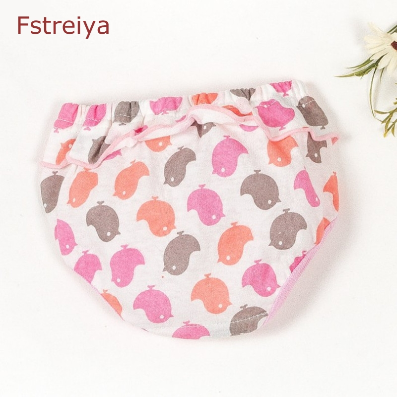 5 piece Baby girls cute Panties cotton baby bragas kids underwear girls panty toddler panties for girls children children shorts in Panties from Mother Kids