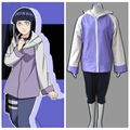NARUTO anime cosplay Hyuuga Hinata  costume uniform halloween