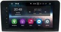 9CarGPS Navigation forMercedes Benz ML GL W164 ML300 ML350 DVD Radio Android8.1 iPod WIFI 4G USB HD CAM IN OBD2 DAB+Reverse Cam