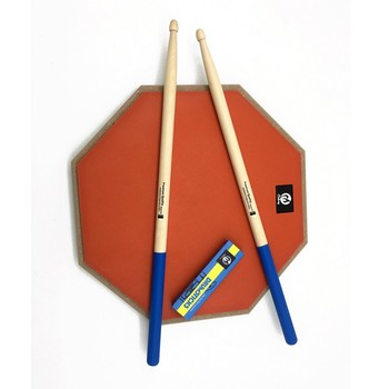 1 Pair 7A Maple Wood Drums Sticks Adult Smooth Anti Slip Portable Drumsticks For Electronic Jazz Drum Kit Drummer Accessories 1 pair 40cm wooden hot rods rute jazz drum sticks portable lightweight