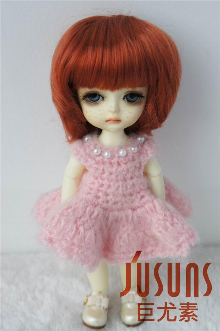 JD019 1/12 1/8 populaire garçon coupe courte perruque de poupée BJD - Poupées et accessoires - Photo 5
