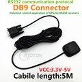 Protocolo RS232 conector DB9 para aplicaciones industriales GPS glonass antena voltaje de funcionamiento 3.3-5 V