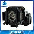 Lâmpada de substituição do projetor compatível ELPLP38 / V13H010L38 para EMP1700 / EMP1705 / EMP1505 / EMP1715 / EX100. . .