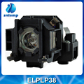replacement compatible projector lamp ELPLP38/ V13H010L38 for EMP1700/EMP1705/EMP1505/EMP1715/EX100...