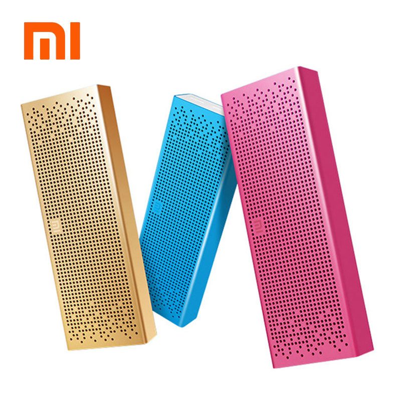 Free Shipping Original Xiaomi Mi Speaker Bluetooth Portable Wireless Stereo Loud Speaker Box for Smartphone Support TF SD card original xiaomi mi portable mouse silver aluminum abs material xmsb01mw