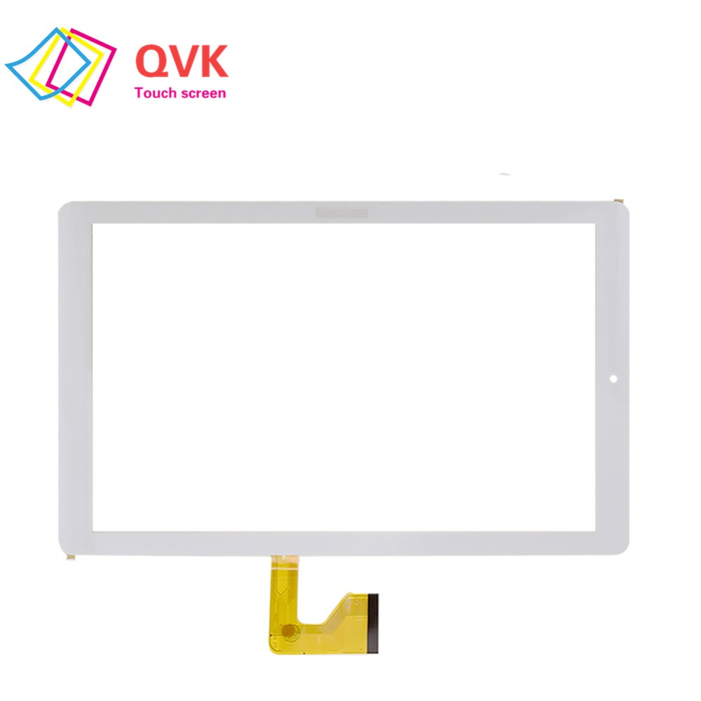 New White 10.1 Inch For ARCHOS Core 101 3G V2 AC101CR3GV2 Tablet Pc Capacitive Touch Screen Glass Digitizer Panel Free Shipping