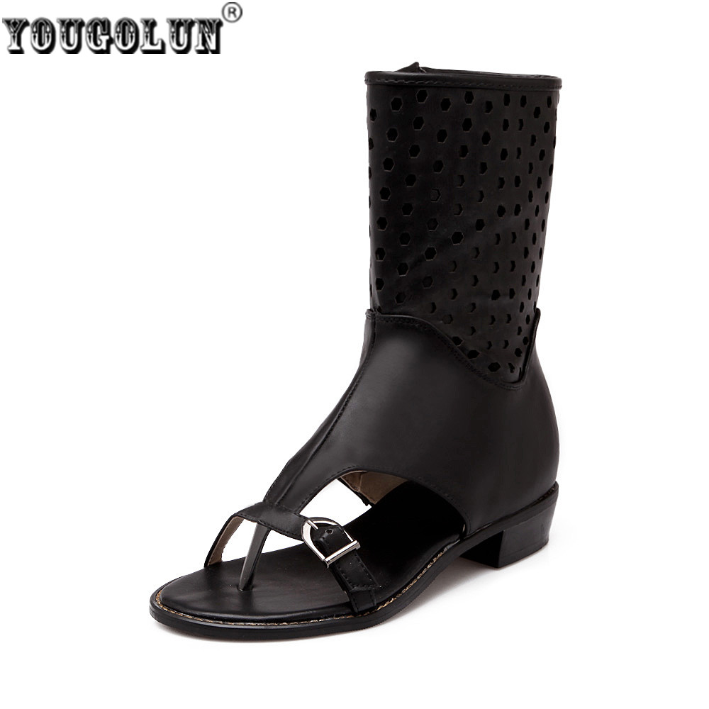 ZYZMNSYP Kadınlar seksi kayısı bej siyah sandalet kadın yaz çizmeler açık klip toe sandal flats Bayanlar gladyatör çizmeler düz ayakkabılar