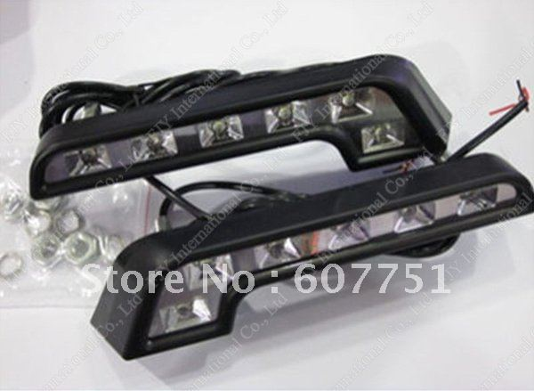 Free shipping+2011 popular style+led daytime running lights/DRL+car led light