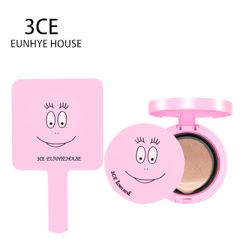 3CE Eunhye House Brand Makeup Set Air Cushion CC&BB Cream with puff Skin Color Cosmetic with BABA Makeup Mirror Hot